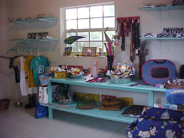 shelter gift shop